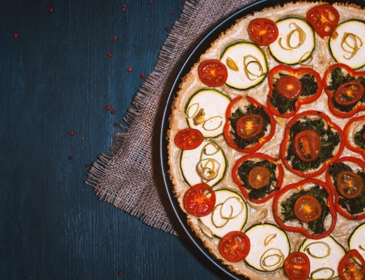 Vegane Quinoa Tarte