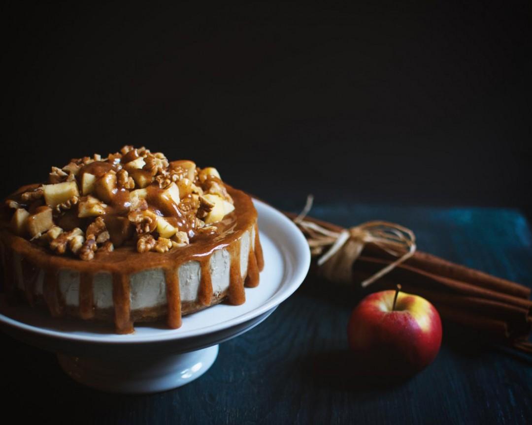 Apfel-Walnuss-Torte (roh & vegan)