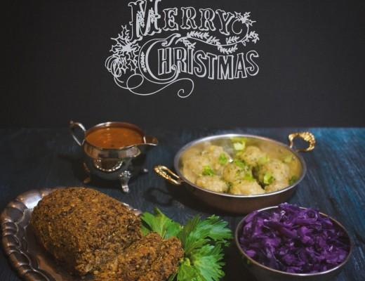 Veganer Weihnachtsbraten - Festtagsbraten