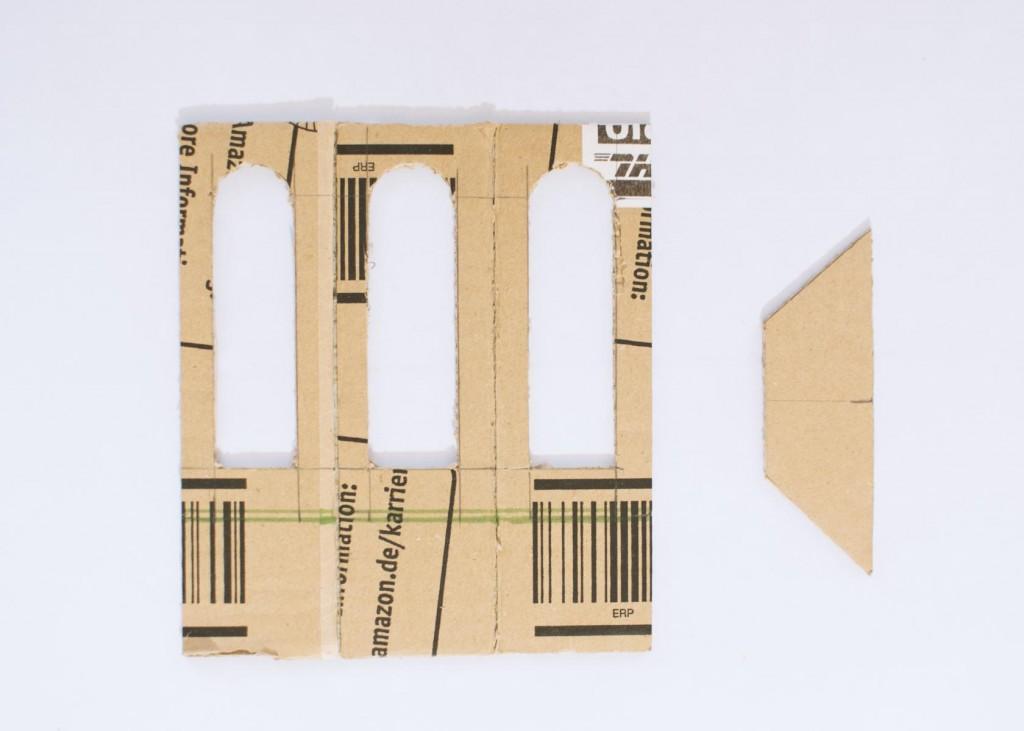 Puppenhaus aus Versandkarton DIY 4