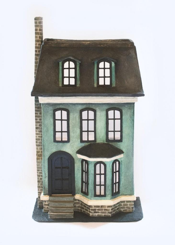 Puppenhaus selber machen (Pappmaché)
