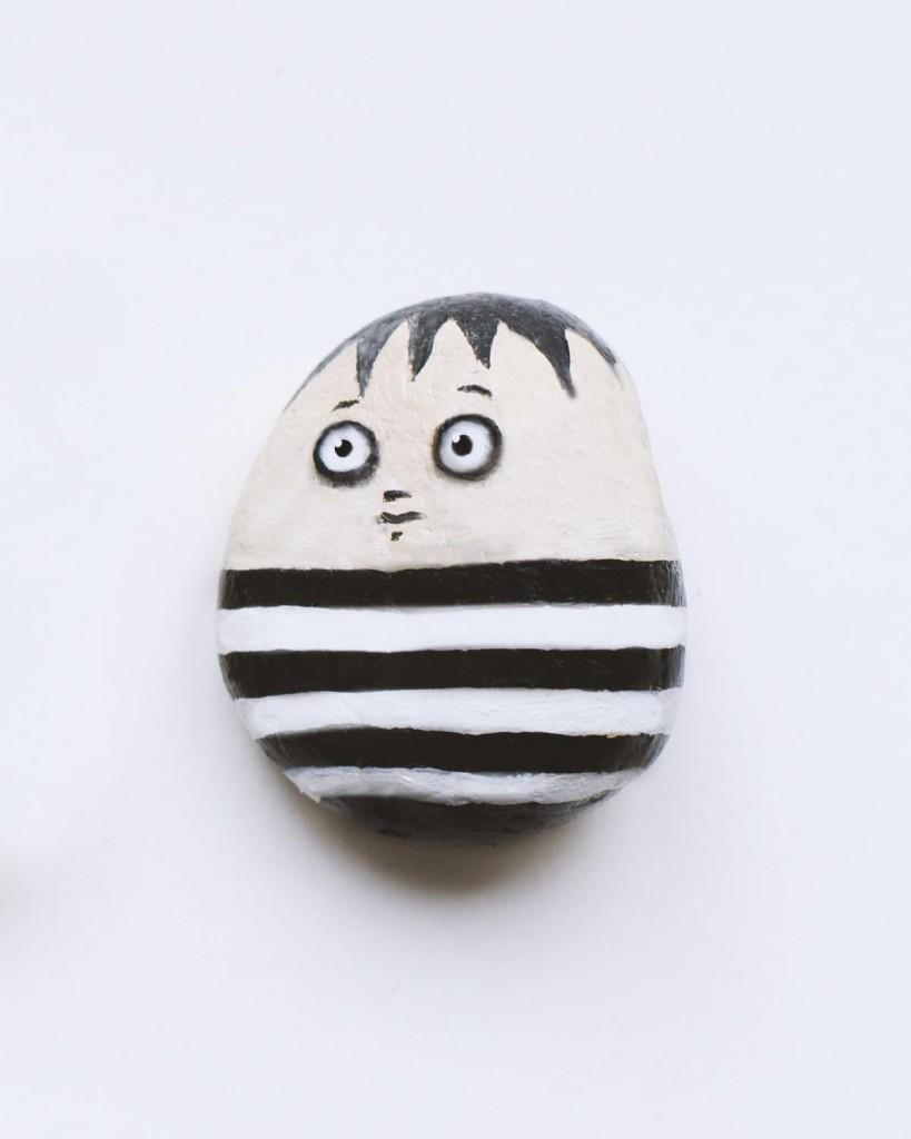 Spielstein - Spielfigur Pugsley - Spielzeug DIY