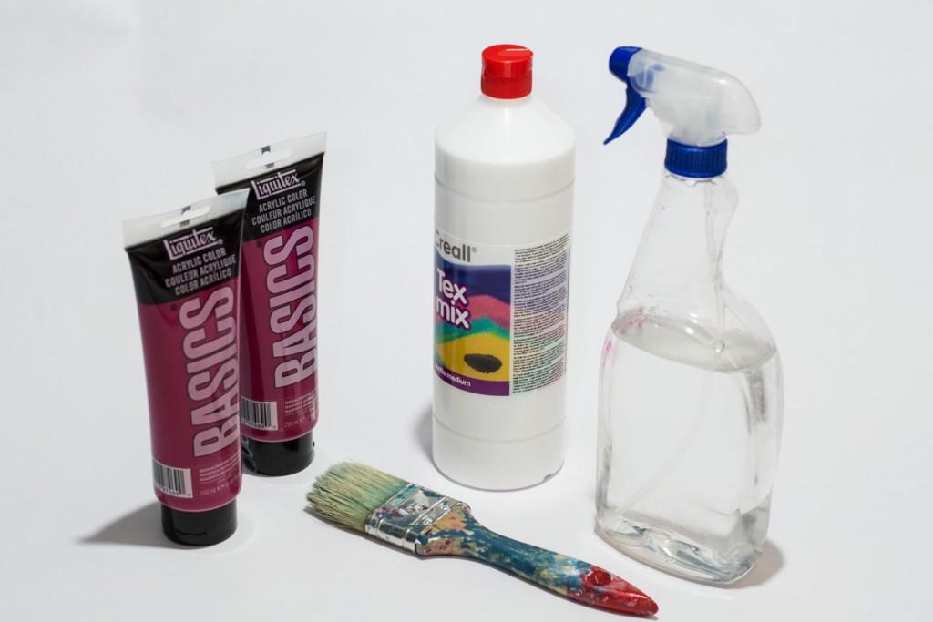 Polster streichen - Material