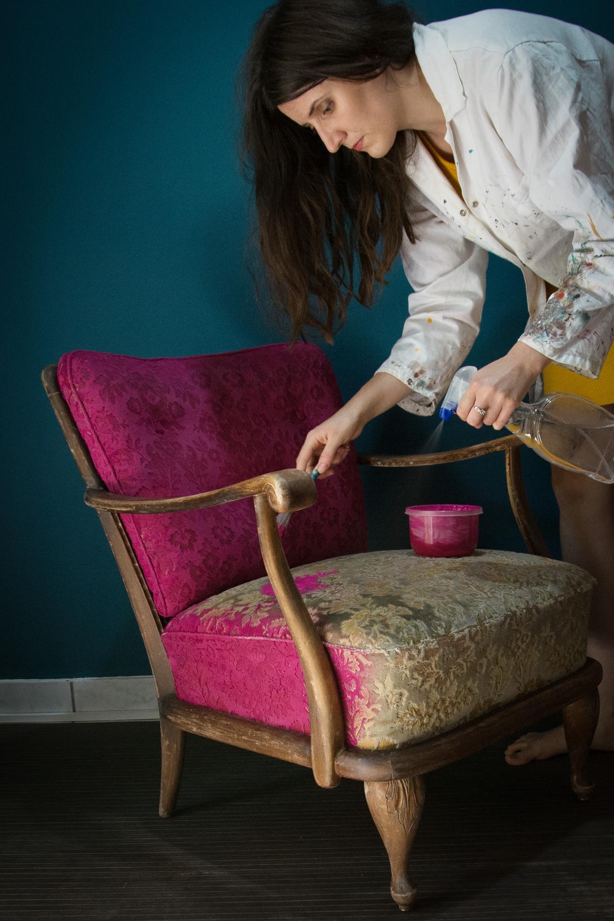 Antike Sessel Neu Beziehen